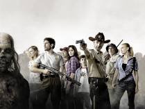 Fondo promocional The Walking Dead