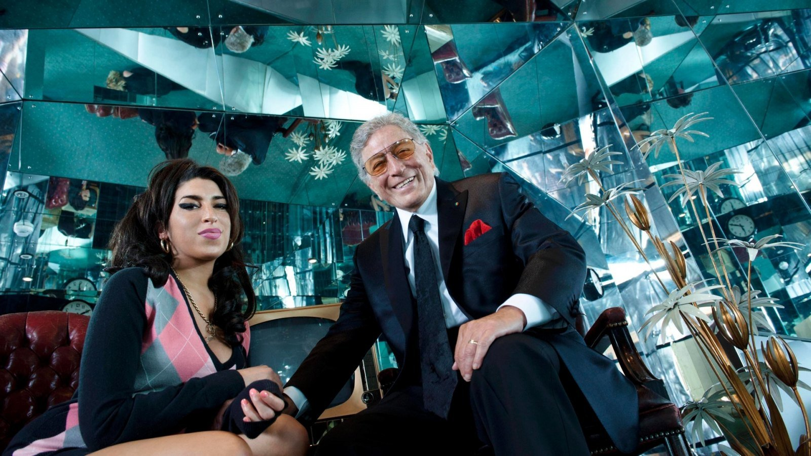 Amy Winehouse y Tony Bennett