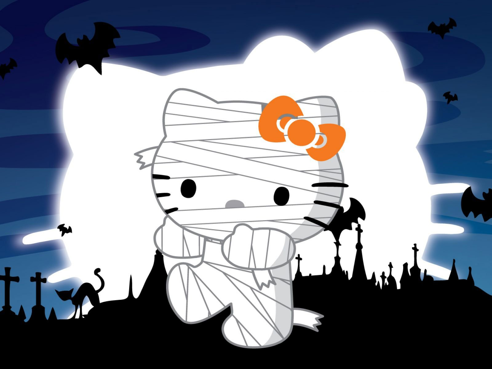 Hello Kitty en Halloween HD
