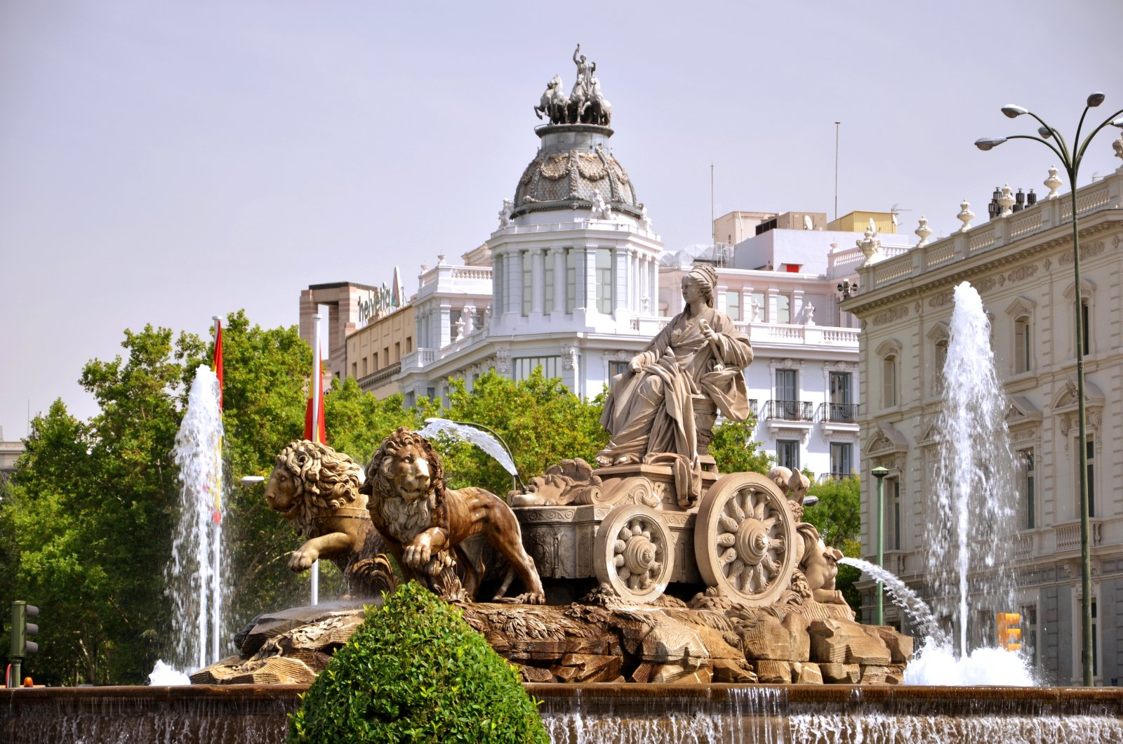 Plaza de Cibeles HD