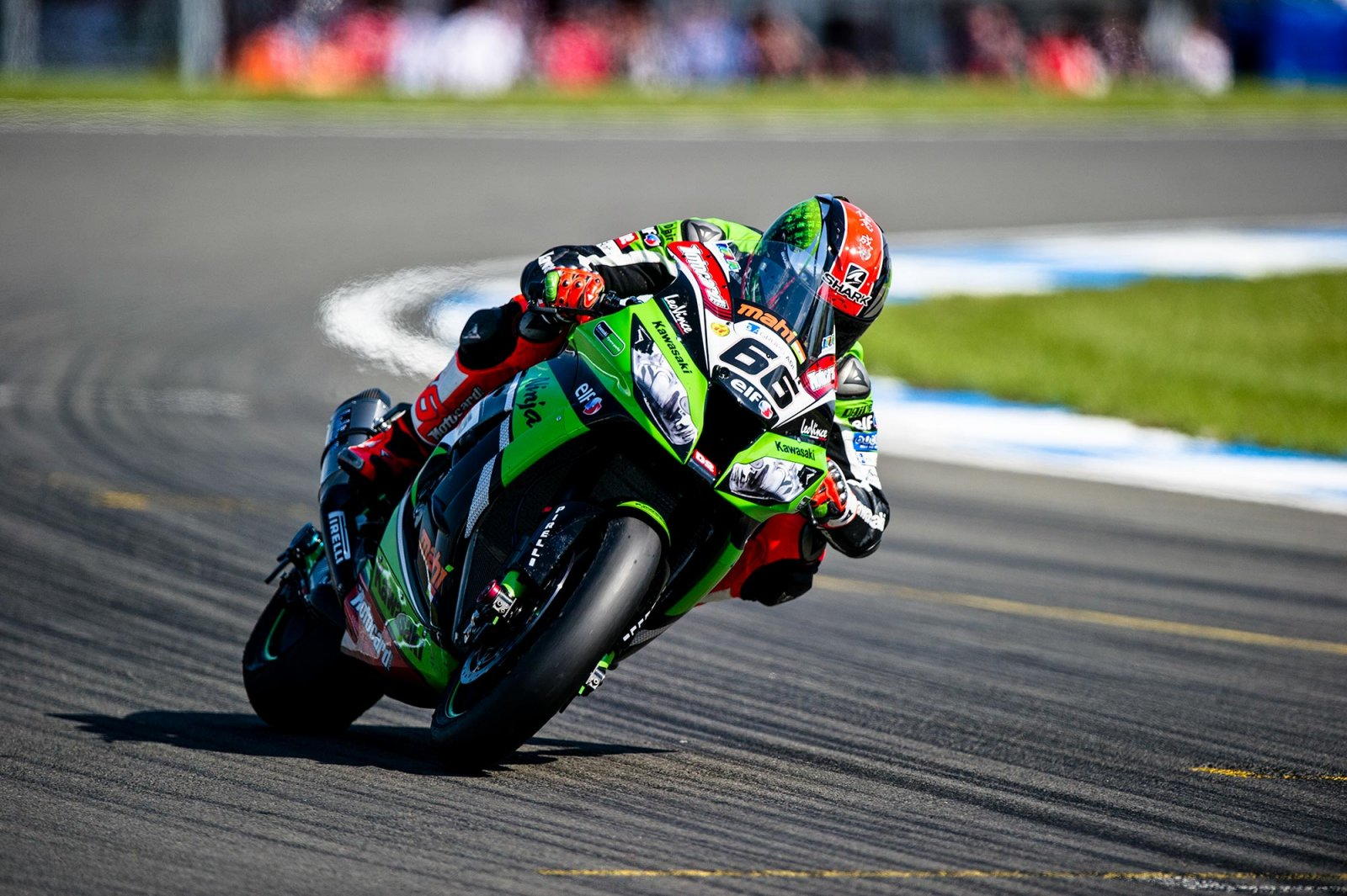 Tom Sykes del Kawasaki Racing Team HD