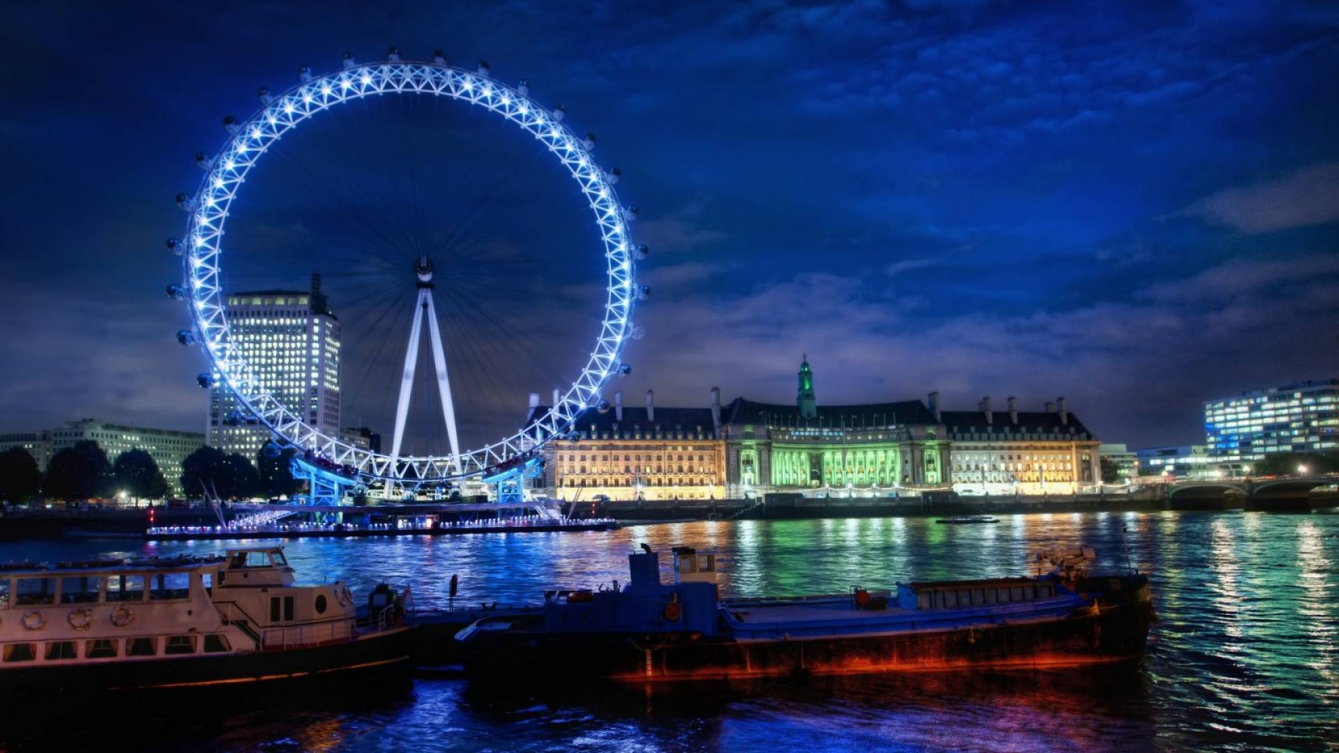 London Eye 1920x1080 Hd Fondoswiki Com