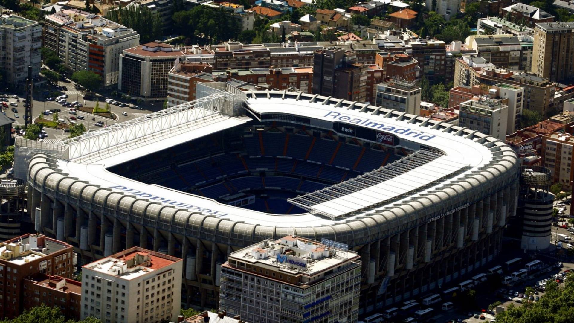 Estadio Santiago Bernabéu HD